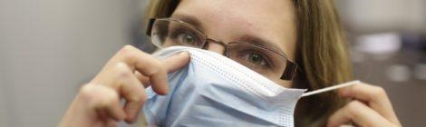 Ношение медицинской маски обязательно в общественных местах