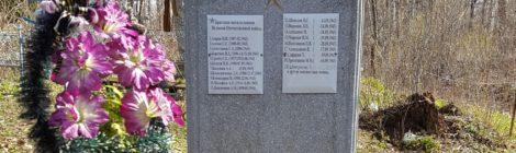 Братская могила № 552, село Ловать.