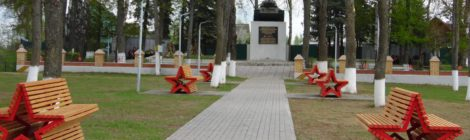 Воинское захоронение № 557, Братское кладбище с. Хвастовичи.