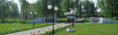 Братская могила № 543, посёлок Еленский.