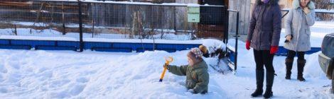 Стихи наших земляков: снег пришёл