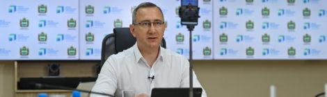 Обращение с ТКО стало центральной темой прямого эфира Владислава Шапши  в социальных сетях